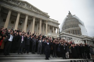 Capitol Hill Employees Stage Walkout Protest Over Recent Grand Jury Decisions