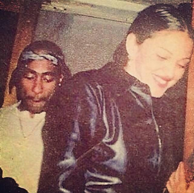 Mar 2015. There are classic photos of music icons Madonna and 2Pac out together in the early 90s floating around the net, but the Vogue singer never.