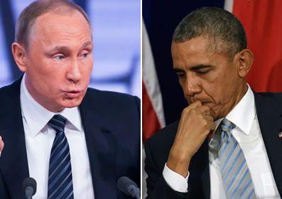 Russian President Vladimir Putin/ Obama